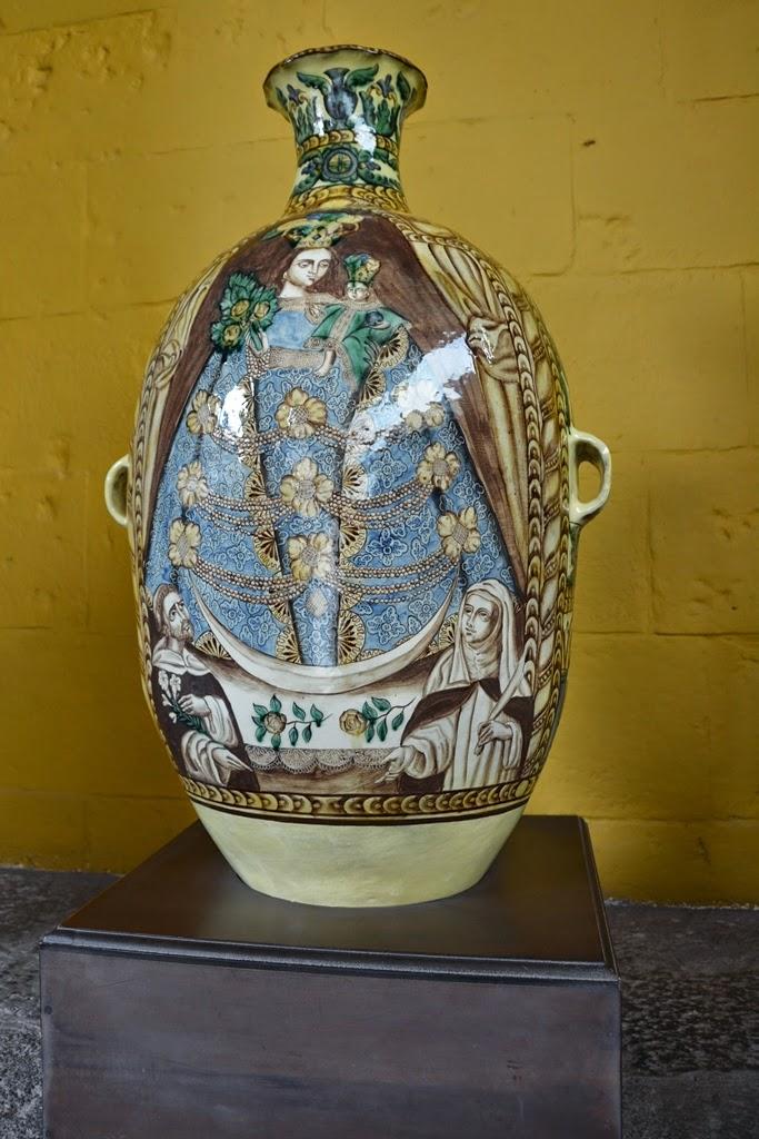 Qorinchanka Monastery Cusco vase