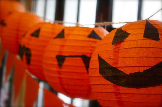 paper jack o lanterns