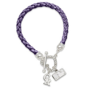 Colorado Rockies MLB Devotion Charm Bracelet