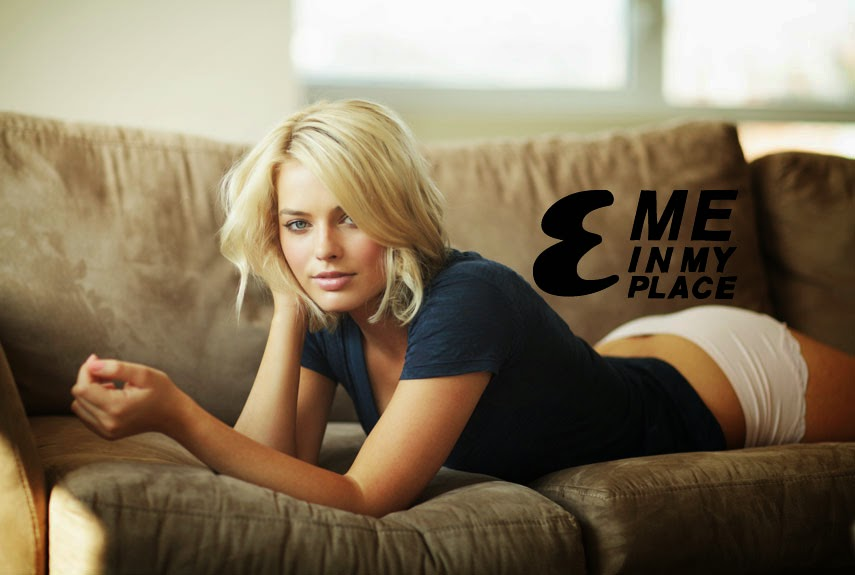 Margot Robbie wears Bikini at Me In My Place