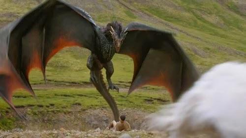Drogon cuarta temporada juego de tronos - Juego de Tronos en los siete reinos