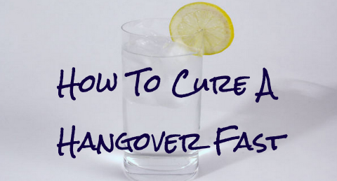 how to kill a hangover fast