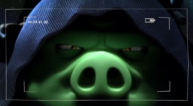pig angry birds ii star wars
