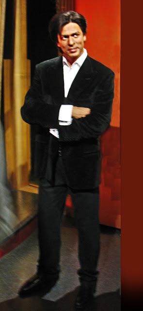 Shah Rukh Khan wax sculpture at Tussauds museum