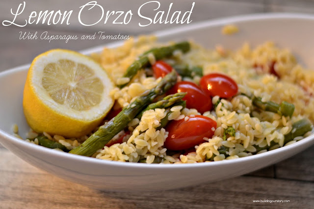 ... Salad, Lemon Orzo Salad, Lemon Orzo Salad with Asparagus and Tomatoes