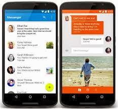 Cara Pasang Aplikasi SMS Android Lollipop