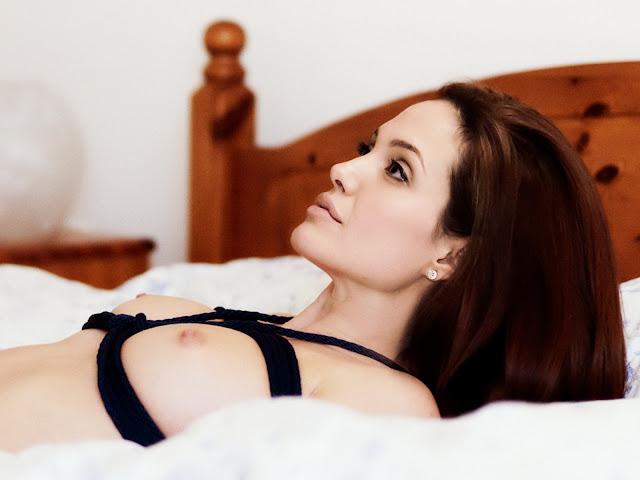 Angelina Jolie Nude Bondage Naked