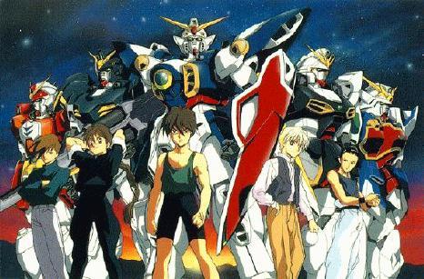 alternate universe Gundam