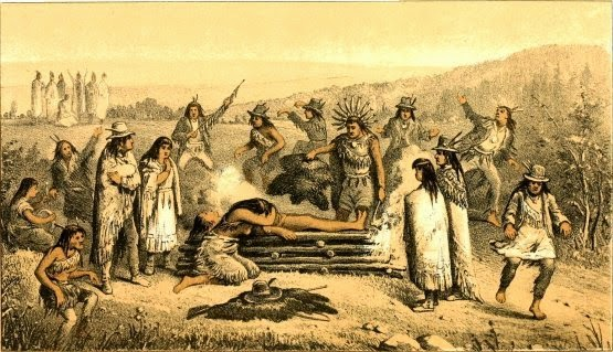 native american death rituals