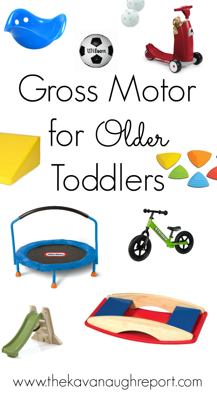 Gross Motor For Older Toddlers