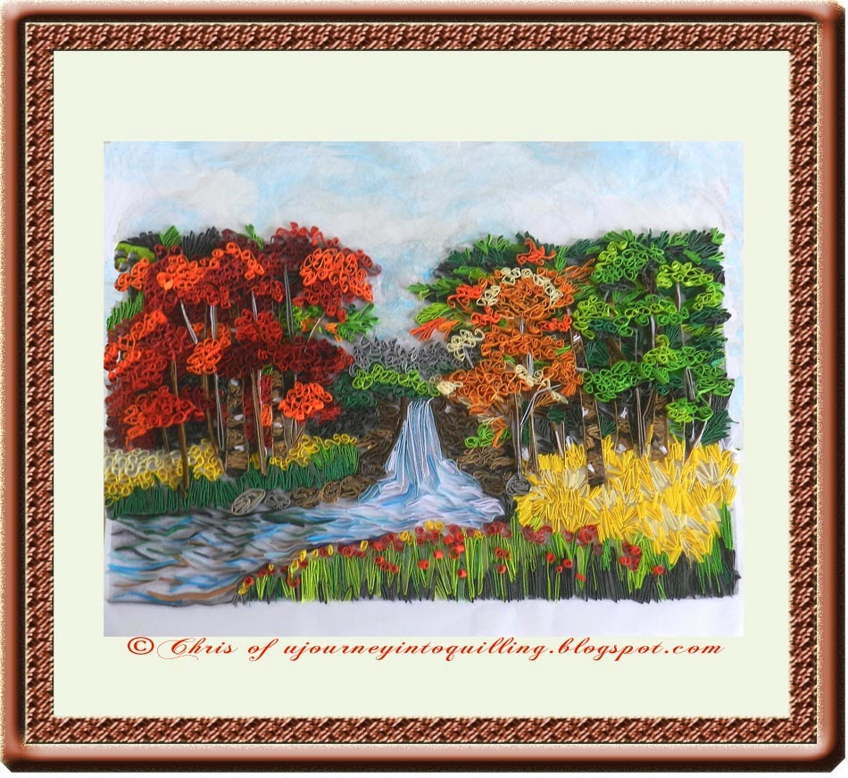 Paintings of Nature Scenes Scene Landscape Painting