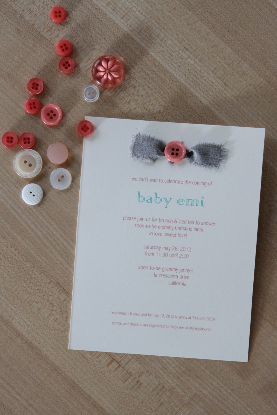 by way of ney diy baby shower invitation cute as a button