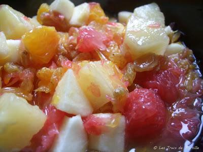 salade de fruits (voir la recette)