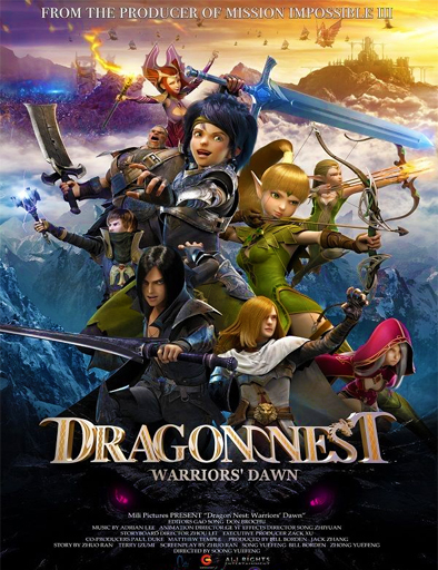 Ver Dragon Nest: Warriors' Dawn (2015) Online