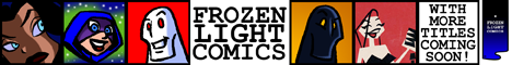 Frozen Light Comics Link Banner