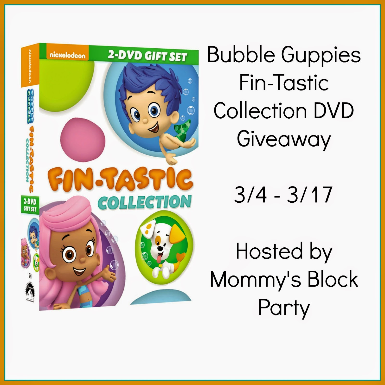 mommy u0027s block party bubble guppies fin tastic collection dvd