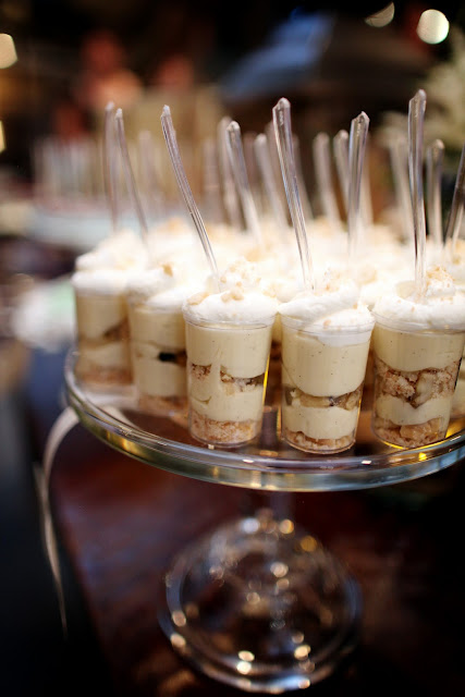 Banana Pudding Layered Dessert Shooters by Twin Cities Bakery, Cocoa & Fig