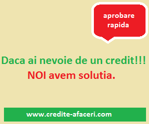 Credite Afaceri