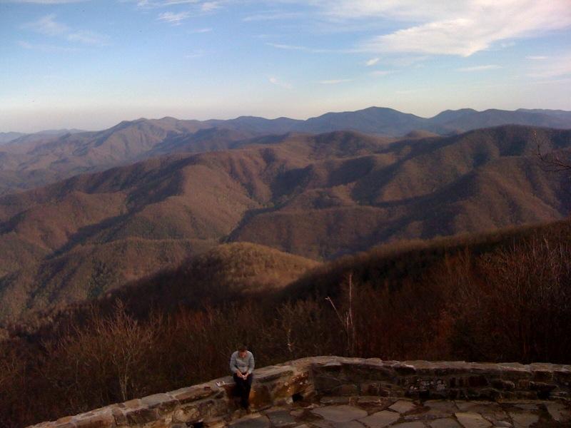 Wayah Bald Lookout Tower North Carolina  Asheville