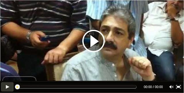 فيديو: خليل الزاوية يتعرض للتعنيف من أهالي جرحى و شهداء الثورة أمام المحكمة