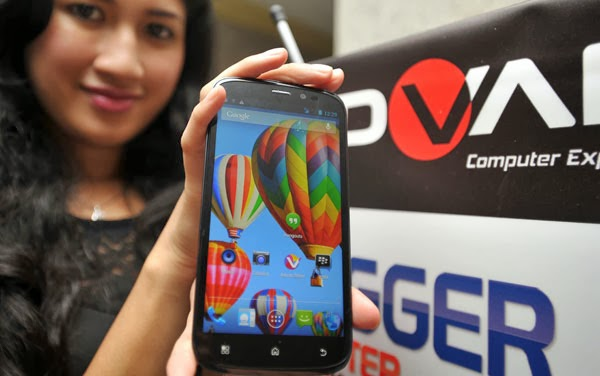 Harga Advan S5G: Phablet Android Usung Kamera 18 MP