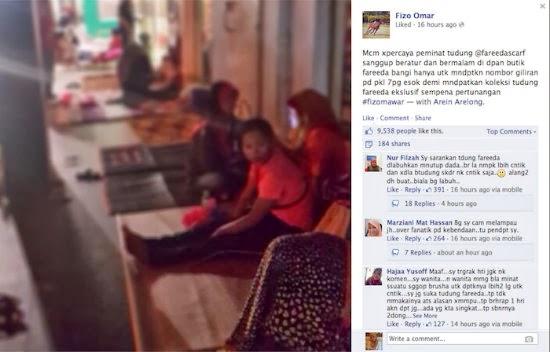 Gambar Punca Fizo Omar di Kritik Hebat Peminat