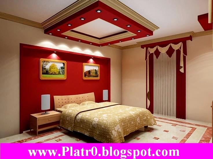 Model plafond platre moderne gascity for for Decoration platre chambre