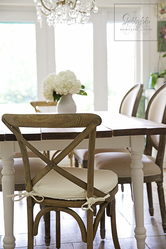 Crushing On Combining Chairs...In The Dining Room | Shabbyfufu