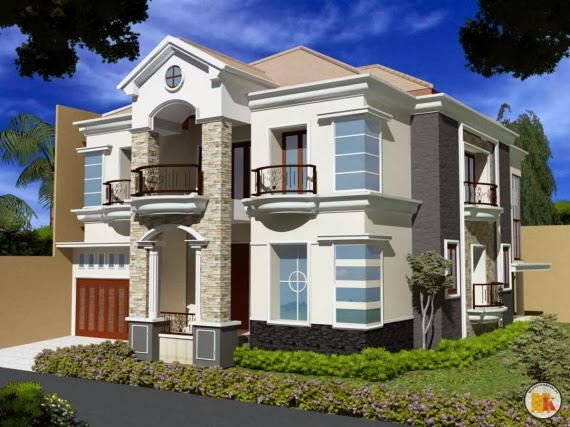 gambar rumah rumah mewah