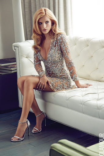 Bella Thorne sexy photo shoot for Glamour Magazine Mexico December 2015