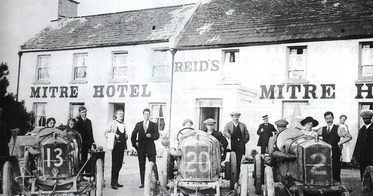 Vintageshed Humber Motor Cars At The 1914 Tt
