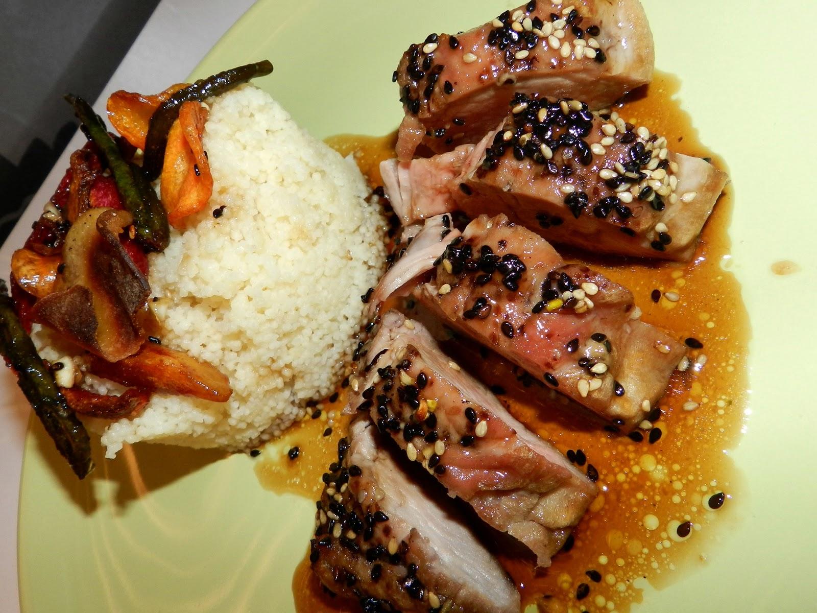 La cocina de vifran solomillo de cerdo al horno con miel - Solomillo a la pimienta al horno ...