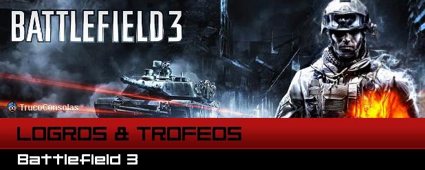 Guía de Logros y Trofeos Battlefield 3