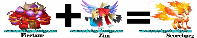 como obtener el monstruo scorchpeg en monster legends formula 3
