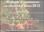 CERTIFICADO NAVIDAD 2012