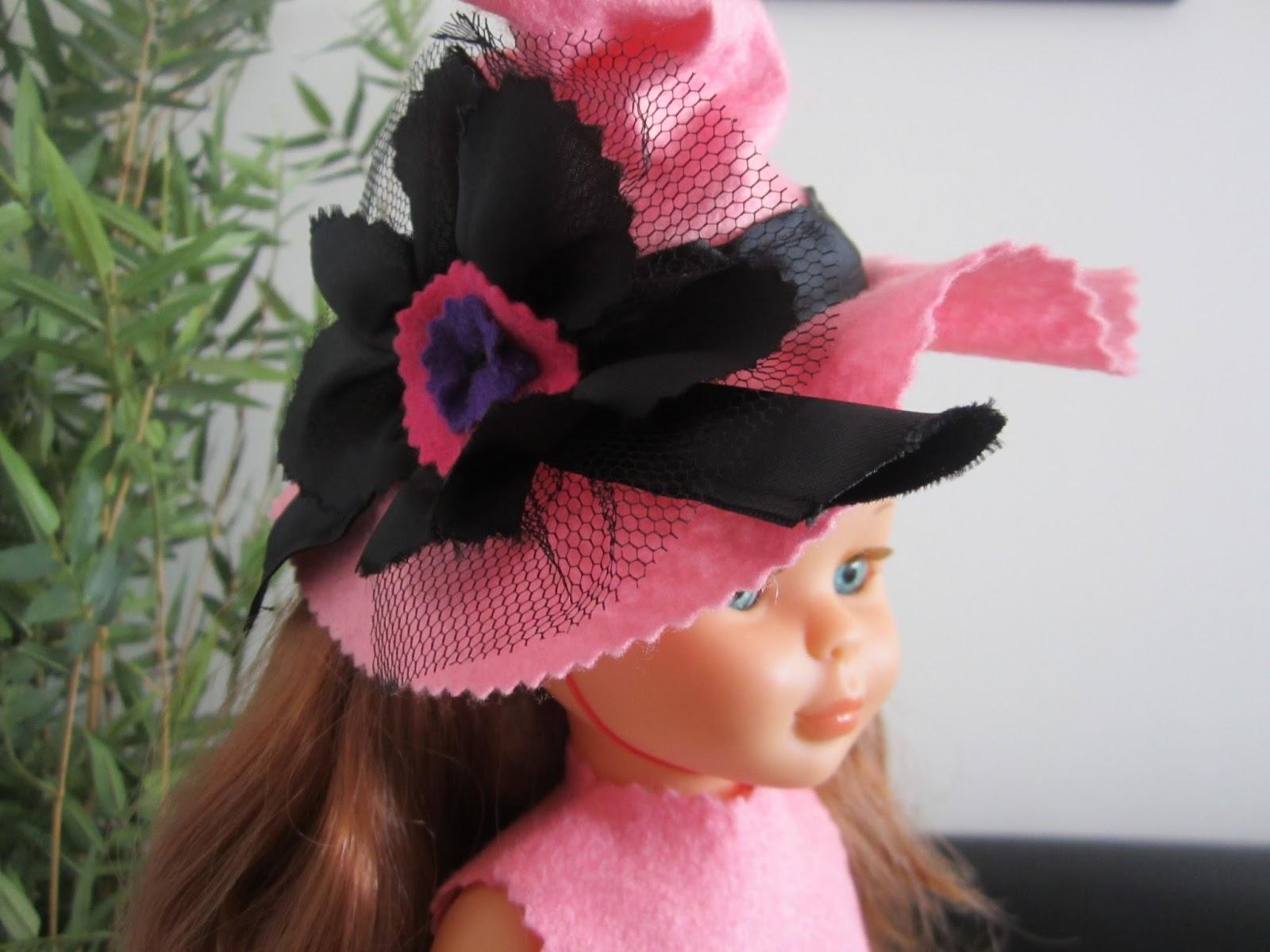 mis nancys, mis peques y yo, disfraz brujilla nancy detalle flor