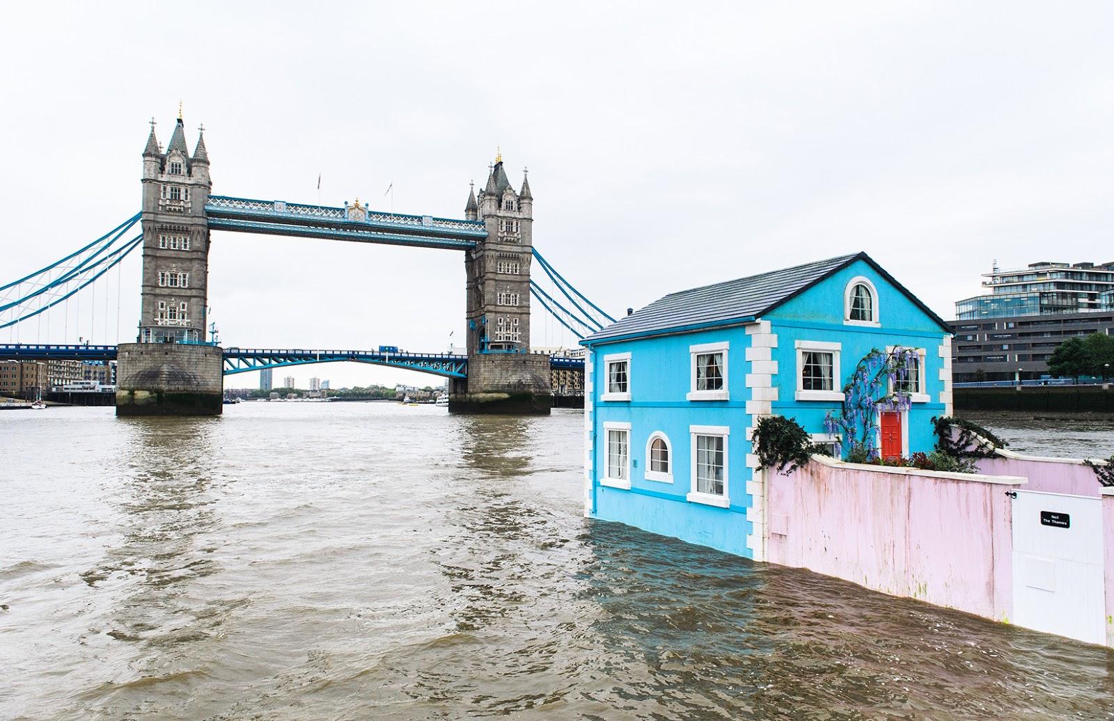 Per filo e per di segno architettura una villetta azzurra