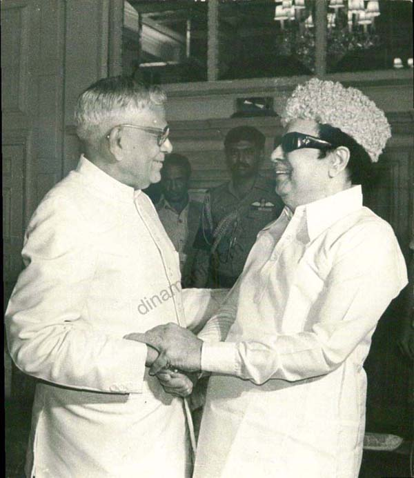 M.G. Ramachandran with R. Venkatraman 3