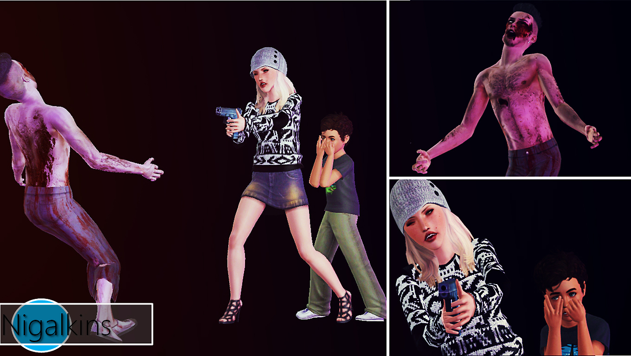 My Sims 3 Blog Zombie Attack Part Two By Nigalkins