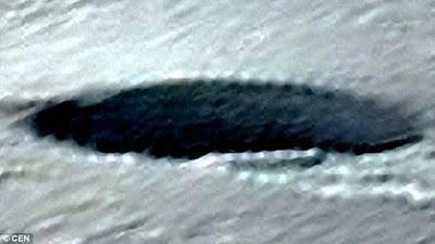 'Essa imagem prova que existem OVNIs na Antártida', diz estudioso de ETs