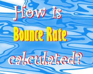 How is bounce rate calculated?