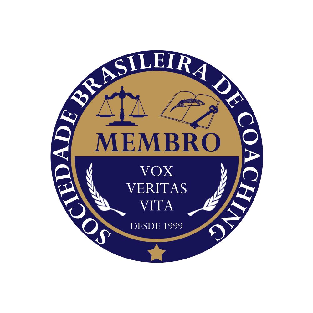 Membro da Sociedade Brasileira de Coaching