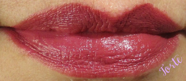 BITE Matte Creme Lip Crayon - Torte Lip Swatch notesfrommydressingtable.com