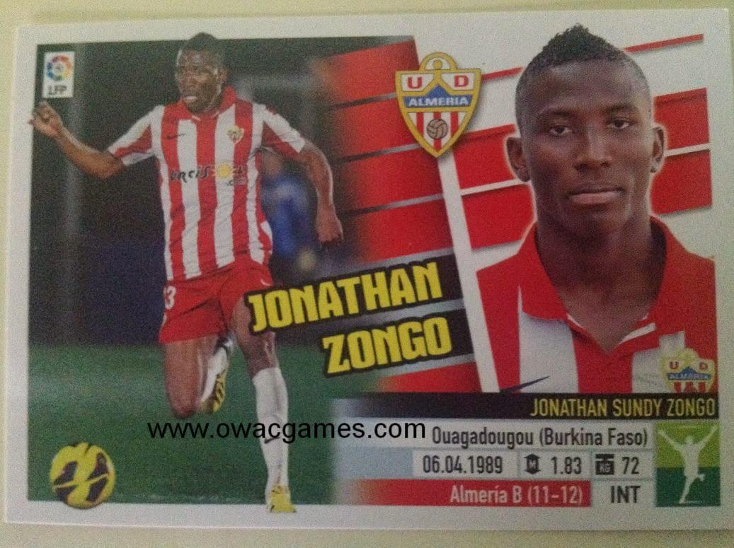 Liga ESTE 2013-14 Almeria 14B - Jonathan Zongo
