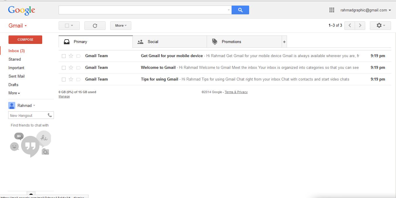 Cara Mudah Daftar dan Buat Email Gmail