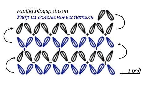 Анютины глазки » Схемы вышивки крестом, крестиком» 35