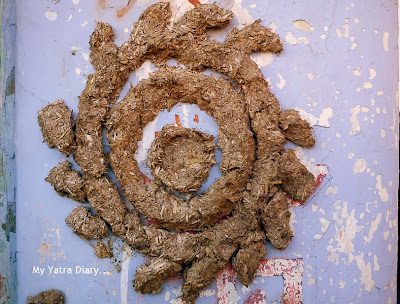 Raksha Bandhan celebration, sooun made of cow dung