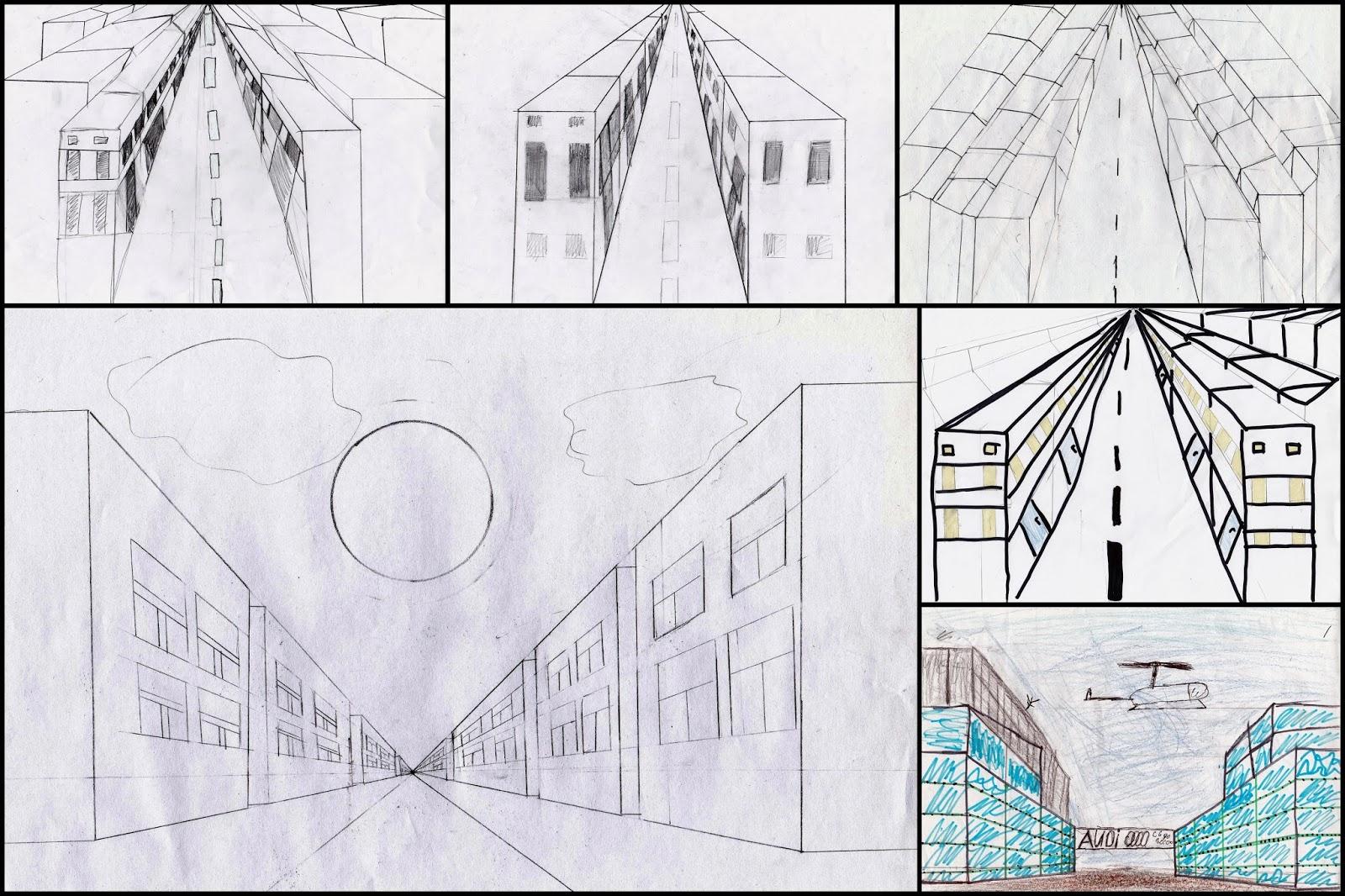 План занятия перспектива в рисунке