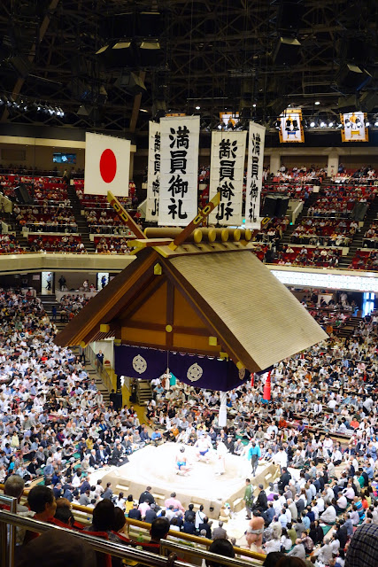 Sumo Opening Ceremony at Tokyo 2013