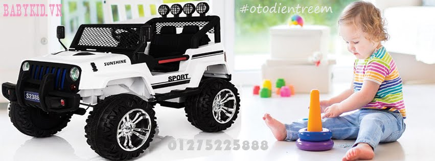Ô tô điện trẻ em Babykid